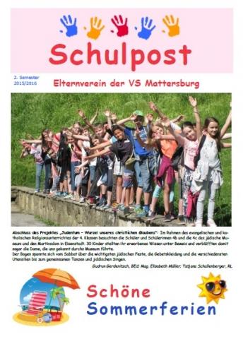 Schulpost 2 2015 16
